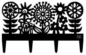flowers garden border