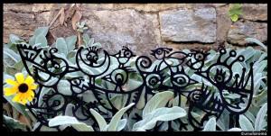 metal garden borders