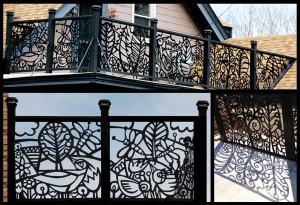 deck fence