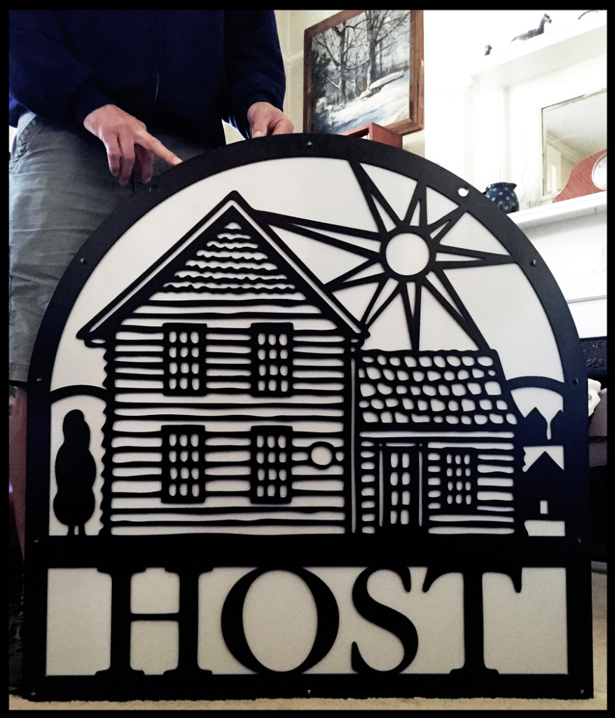 host sign 1