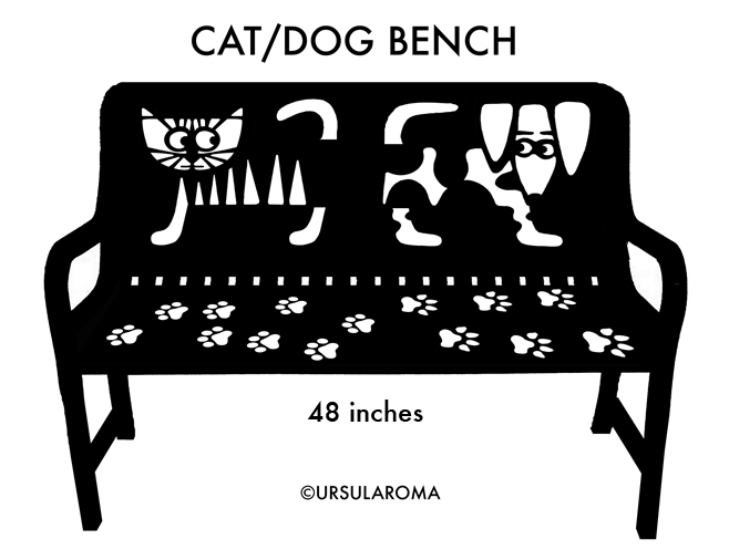 catdog bench 48inches